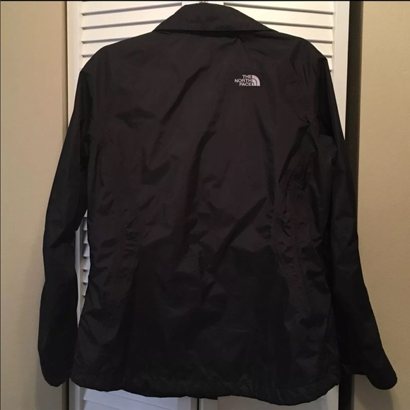 Womens black north face hyvent jacket